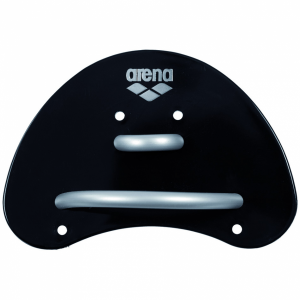 Arena Elite Finger Paddles - Black/Silver