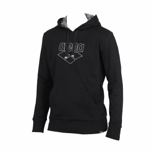 Arena Empyrean Hooded Sweatshirt - Black FRONT