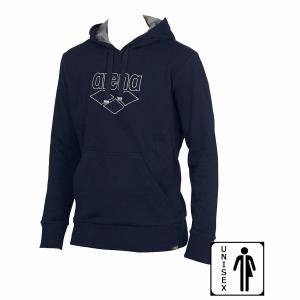 Arena Empyrean Junior Hooded Sweatshirt - Navy FRONT