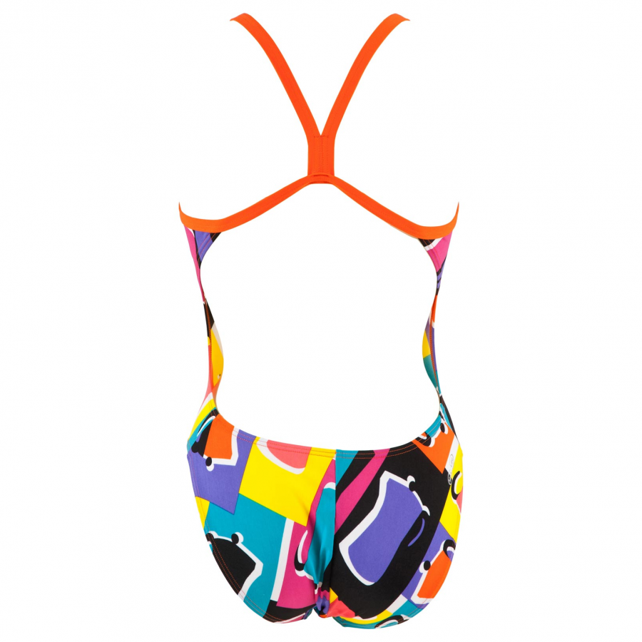 Buy Arena Ladies Espresso Lined Swimsuit