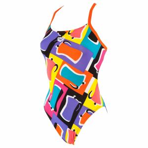 Buy Arena Ladies Espresso Lined Swimsuit