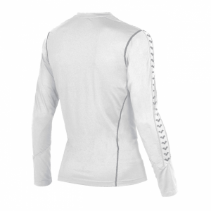 Unisex Arena Extractor Long Sleeved T Shirt - White