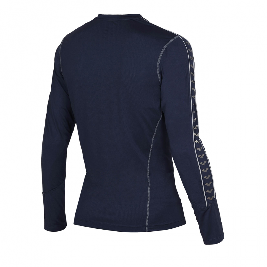 Unisex Arena Extractor Long Sleeved T Shirt - Navy Blue