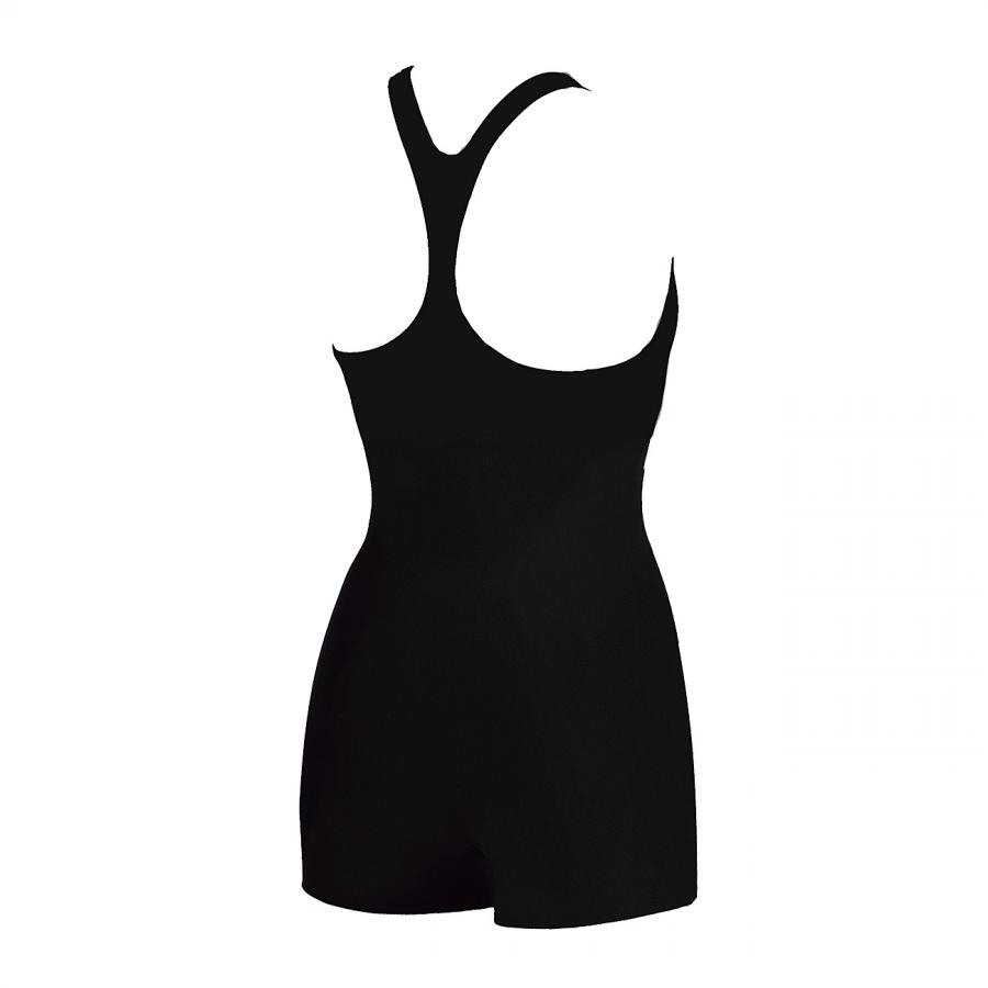 Arena Ladies Legged Swimwear - Fadette (Black / Blue) back