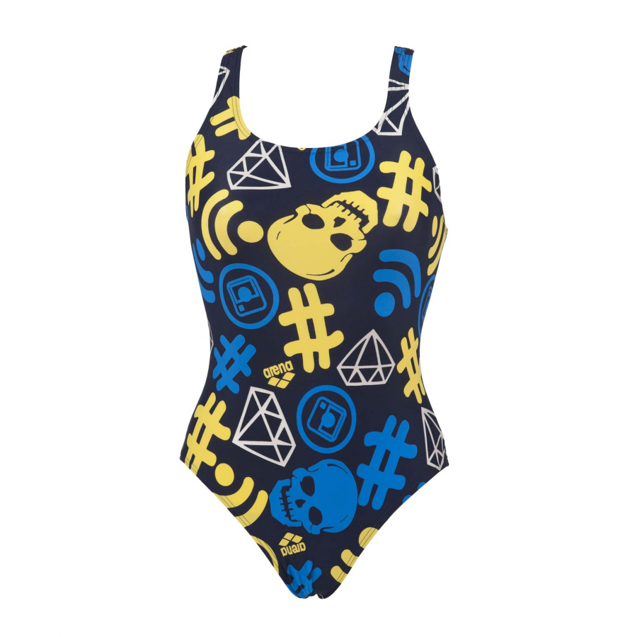 Buy Arena Blue Swimsuit - Fancy