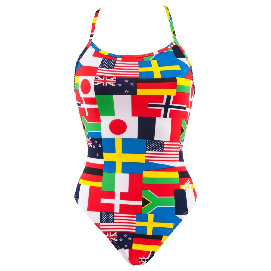 Buy Arena Ladies Flag Swimsuit