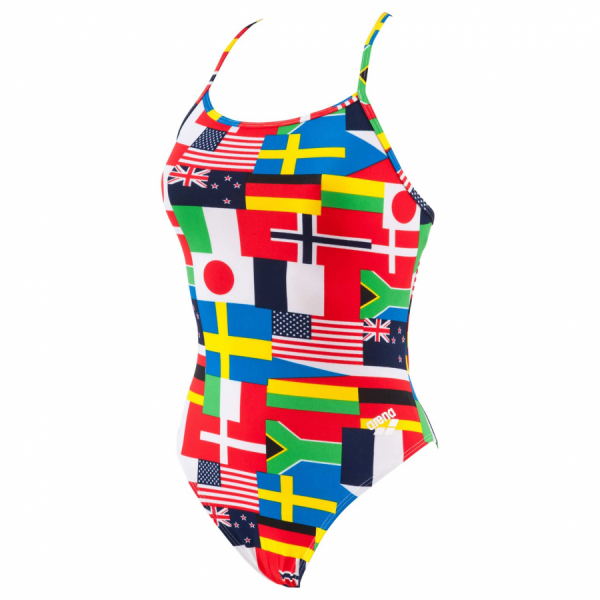 Buy Arena Ladies Flag Swimsuit