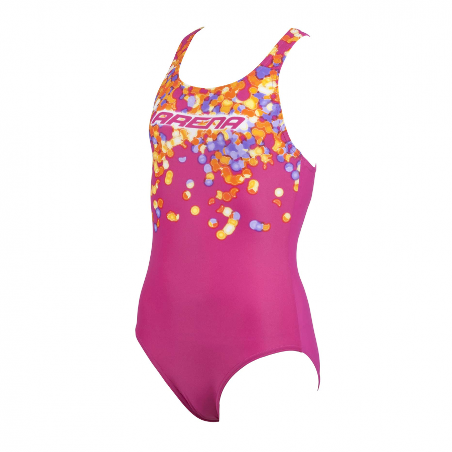 Buy Arena Flake Girl's Pink Swimsuit