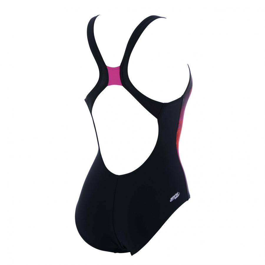 Arena Fluid Swimsuit - (Black/Red)