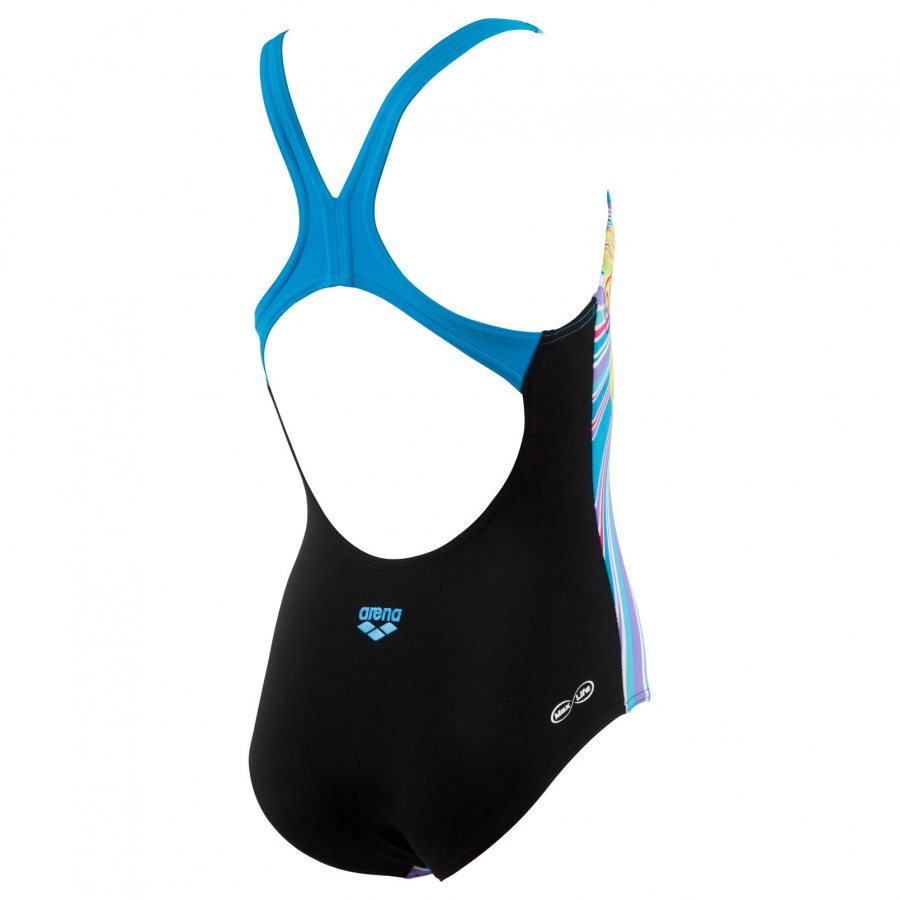 Buy Arena Freshfruit Girls Swimsuit - Turquoise