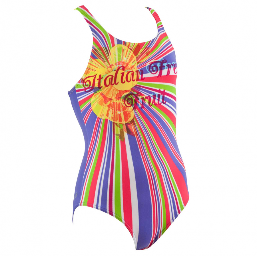 Buy Arena Freshfruit Girls Swimsuit - Violet