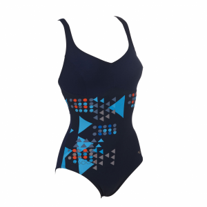 Arena Womens Galaxy Body Shaing Swimsuit