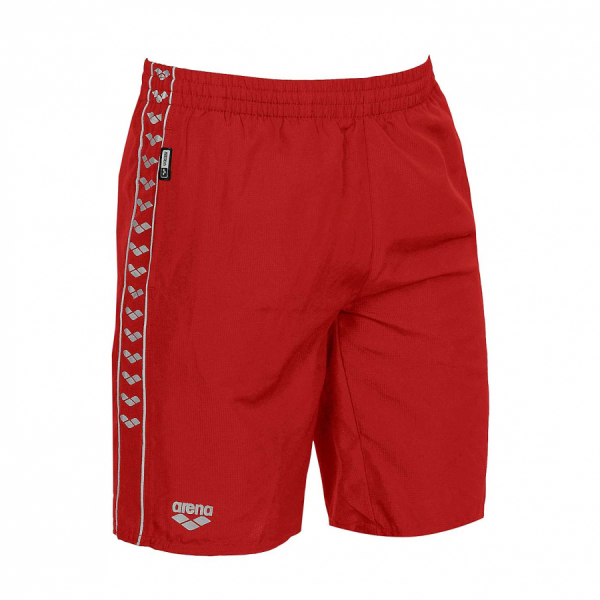Unisex Arena Gauge Junior Long Bermuda Shorts - Red
