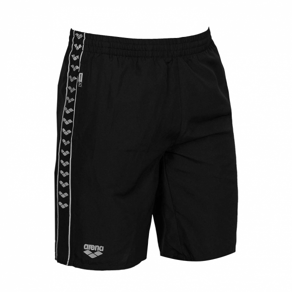 Unisex Arena Gauge Long Bermuda Shorts - Black