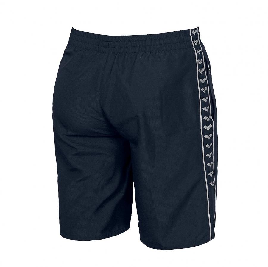 Unisex Arena Gauge Junior Long Bermuda Shorts - Navy BACK