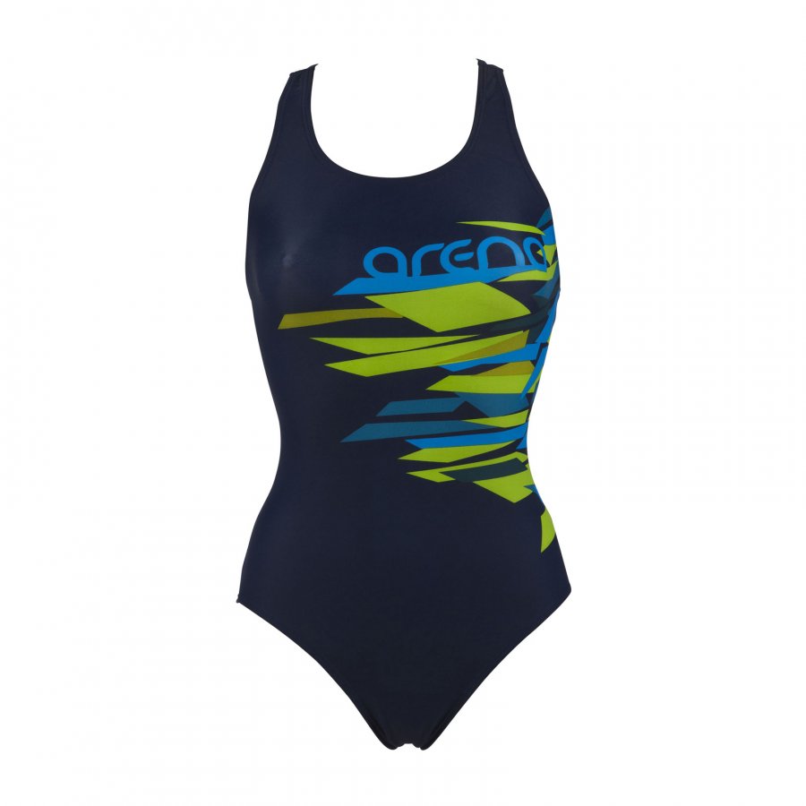 Arena Glacier navy/green one piece swimsuit