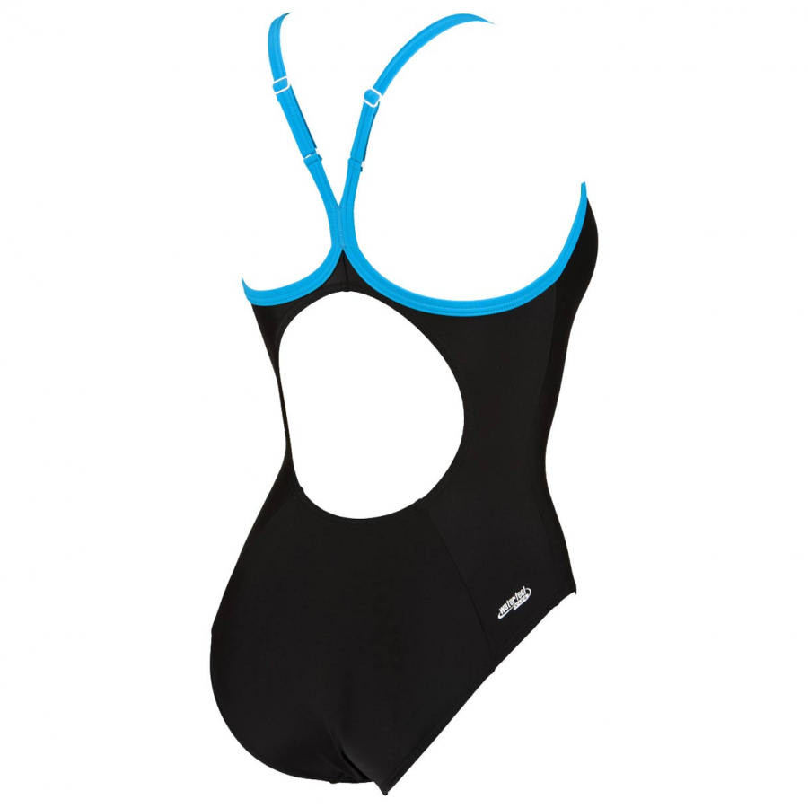 Shop Goal Black / Blue Arena Swimsuit