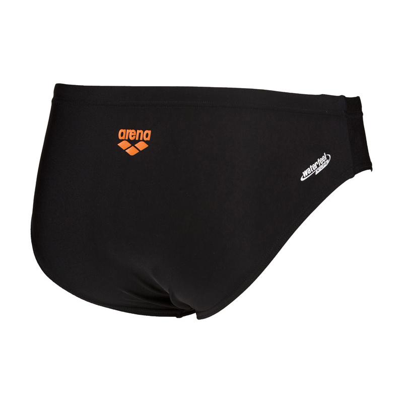 Buy Arena Swim Brief Goal - Black Mango