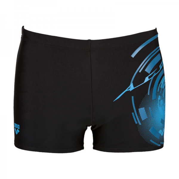 Shop Arena Swim Shorts Goal - Black Blue