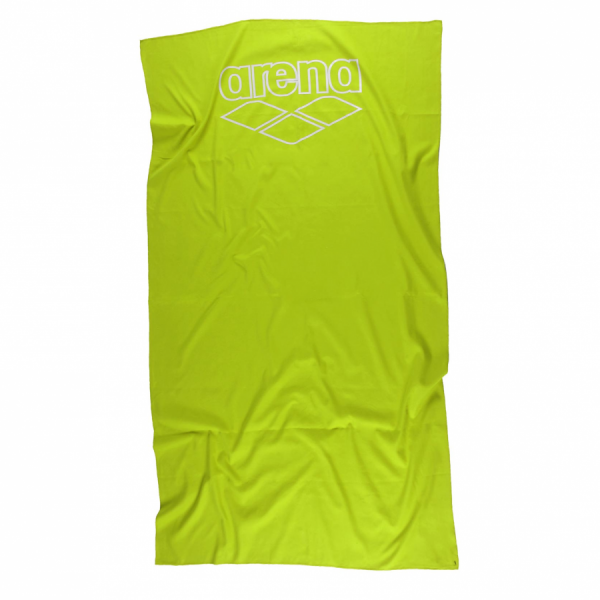Buy Arena Acid Lime Microfibre Towel