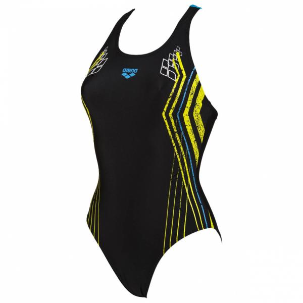 Shop Heartbeat Black Arena Swimsuit