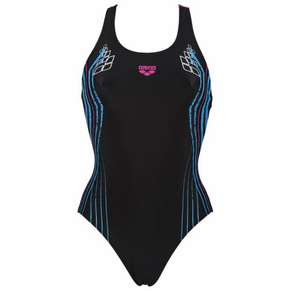 Shop Heartbeat Black / Pink Arena Swimsuit