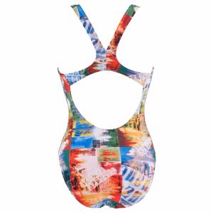 Buy Arena Ladies Swimsuit - Holidays (Multi)