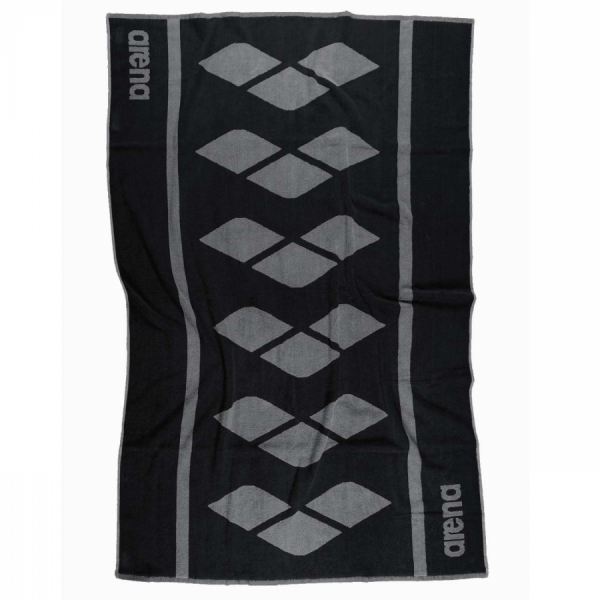 Arena Holly Towel - Black