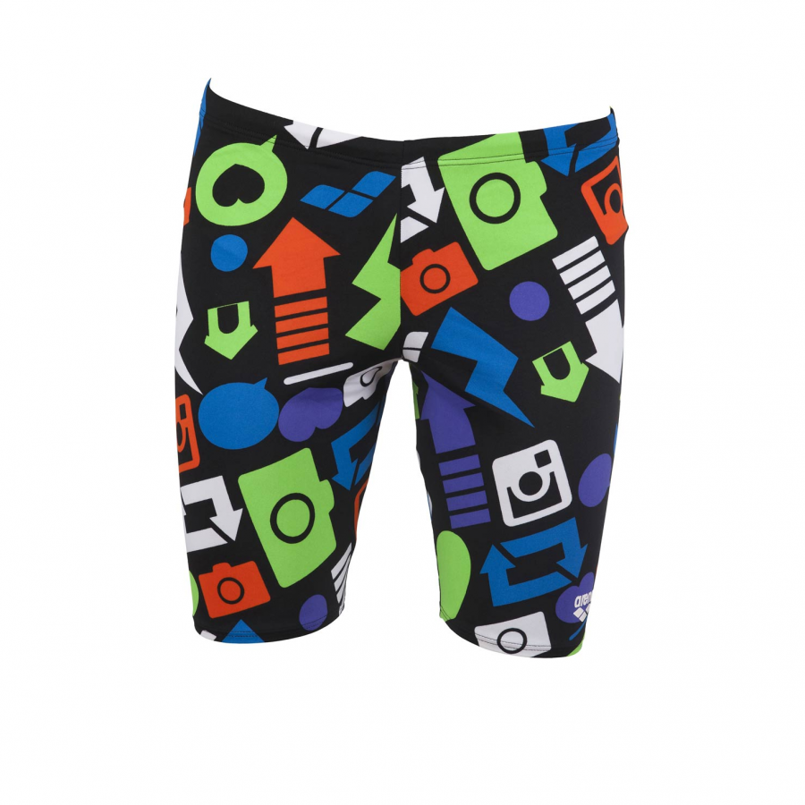 Arena Icon Mens Jammer- Black
