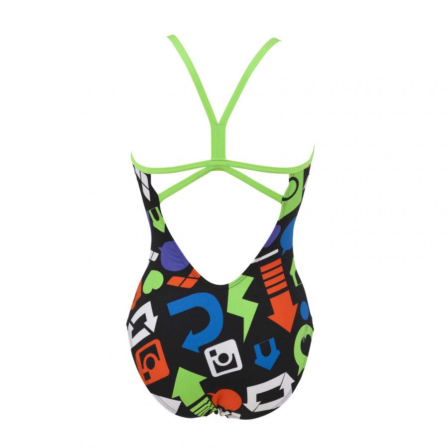 Black Arena Swimsuit - Icon