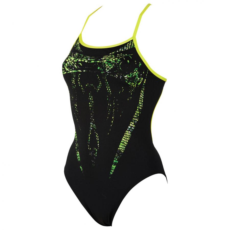 Shop Arena Jararaca Black Swimsuit