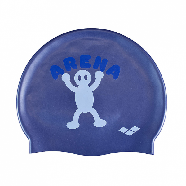 Arena Kun Junior Swim Cap - Indigo