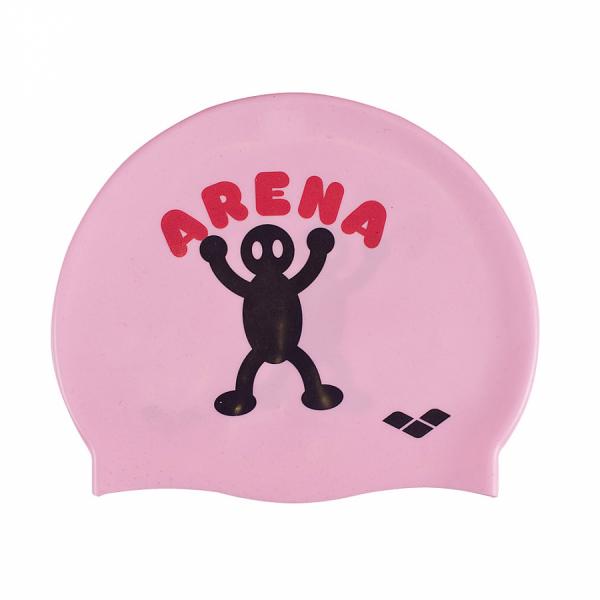 Arena Kun Junior Swim Cap - Sweet Pink