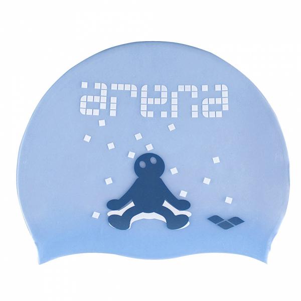 Arena Kun Junior Swim Cap - Glass Blue