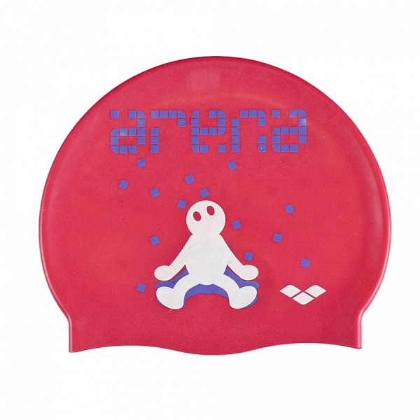 Arena Kun Junior Swim Cap - Petunia