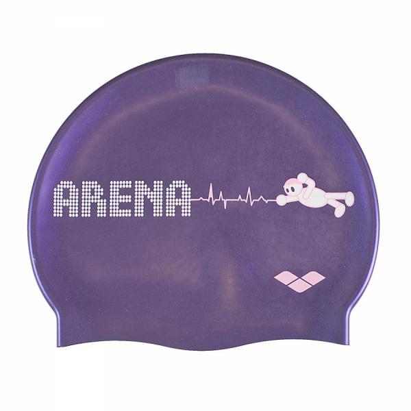 Arena Kun Junior Swim Cap - Dahlia
