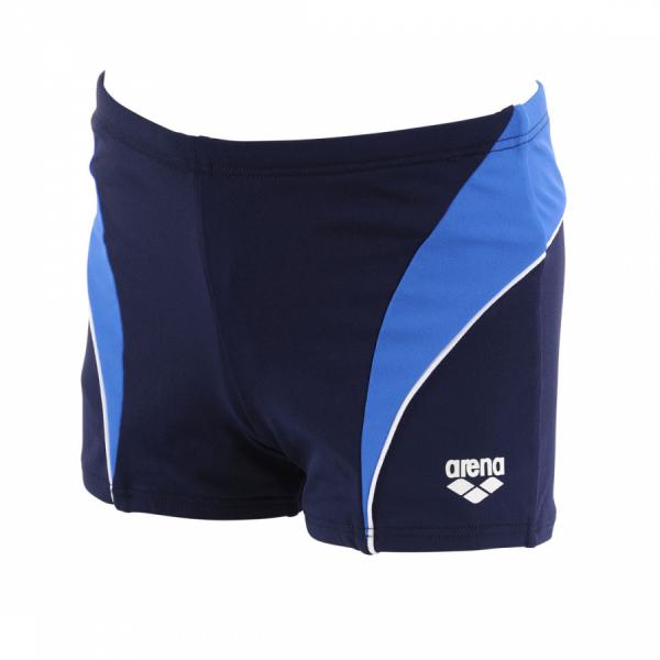 Arena Lettering Junior Swim Shorts (Blue)