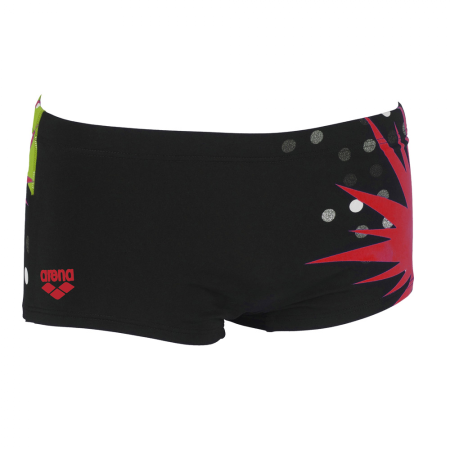 Arena Like Mens Low Waist Short Black