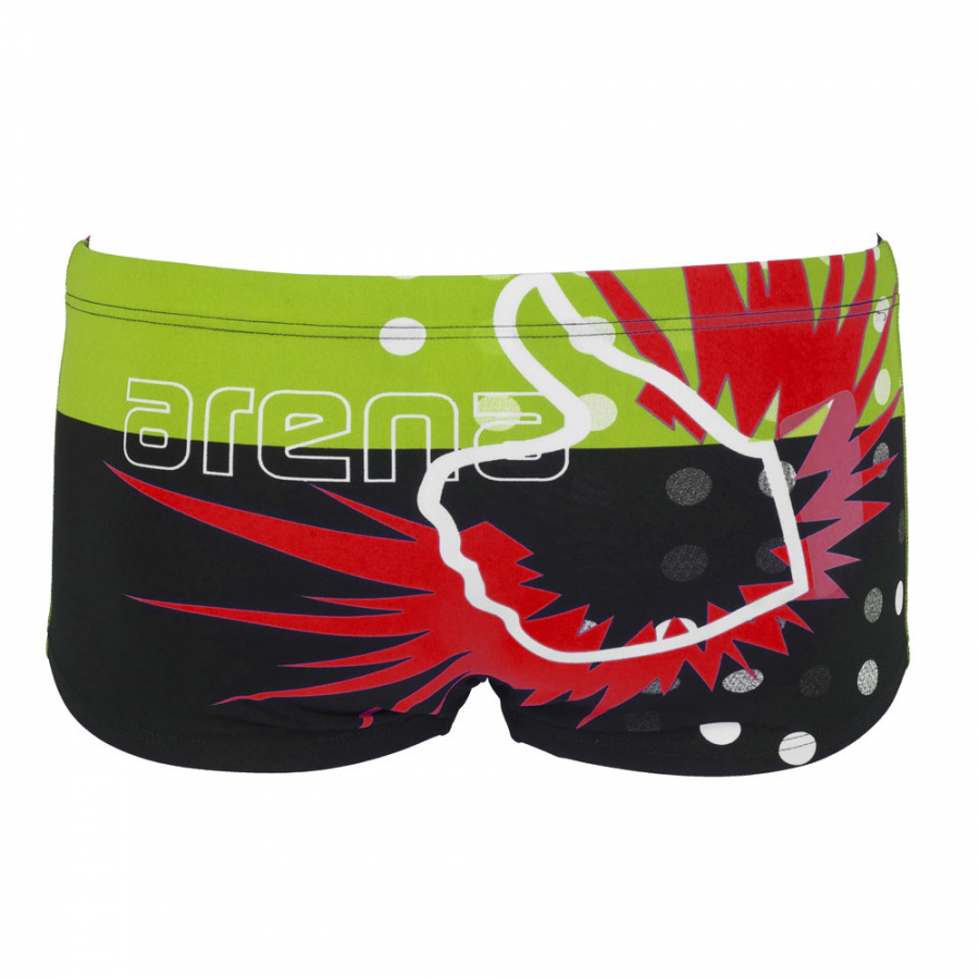 f533579600 Arena Like Mens Low Waist Short Black
