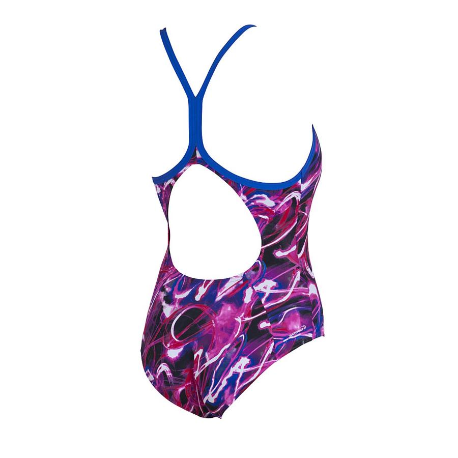 Arena Ladies Madang Swimsuit (Fuchsia)