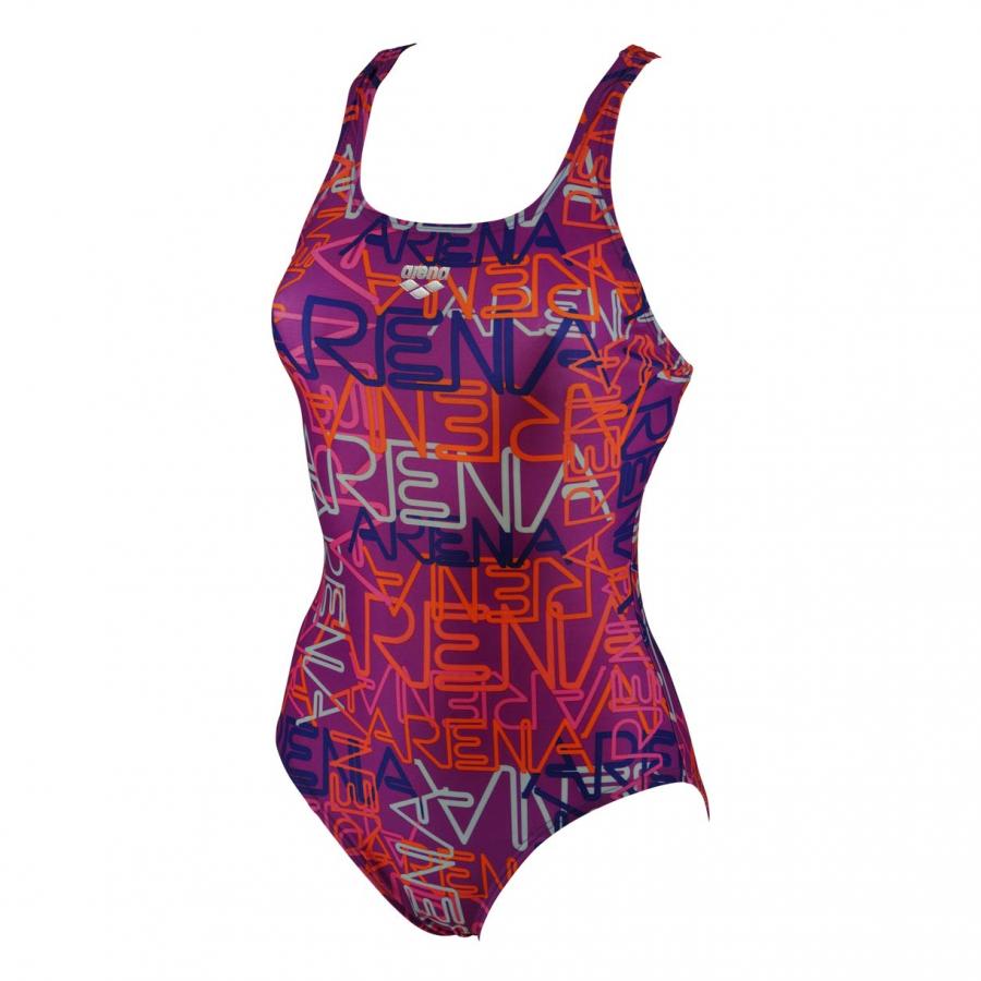 Arena Ladies Maiolica Swimsuit (Grape/Multi)