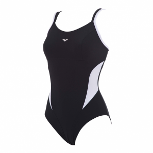 Buy Arena Black and White Makimurax Body Shaping Swimsuit