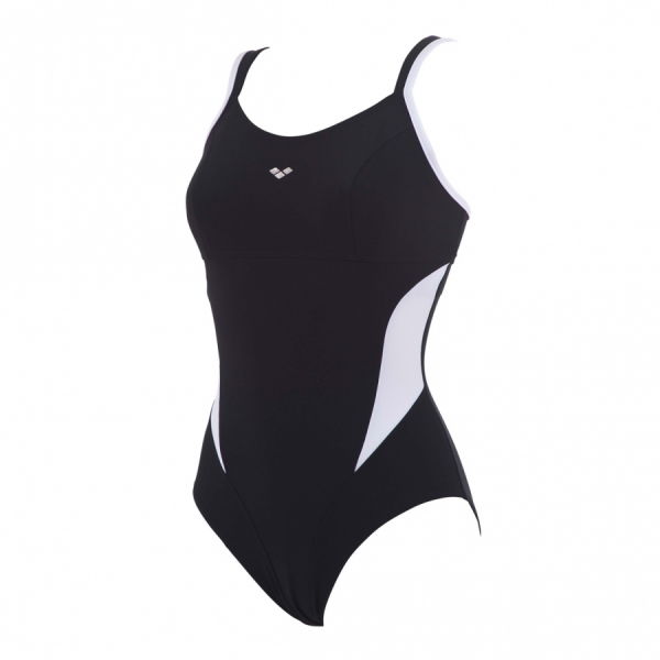 Buy Arena Black and White Makimurax Body Shaping Swimsuit