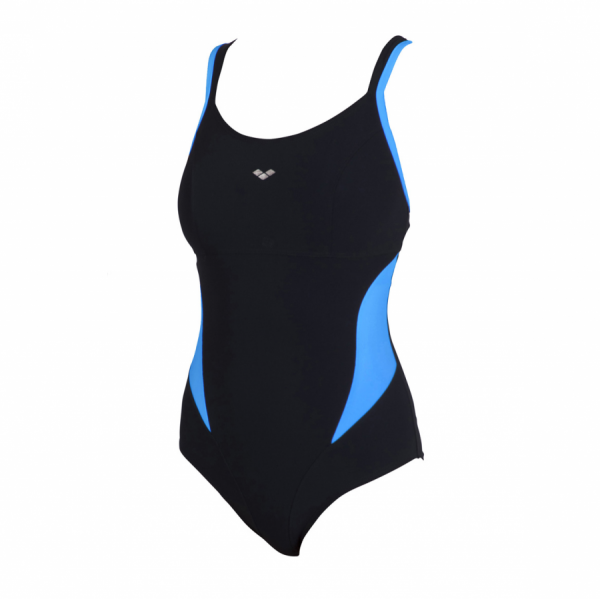 Buy Arena Black & Turquoise Body Shaping Swimsuit Makimurax