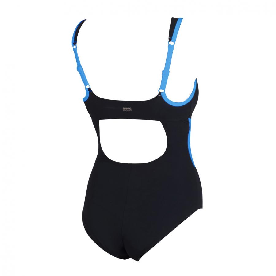 Buy Arena Black & Turquoise Body Shaping Swimsuit Makimurax