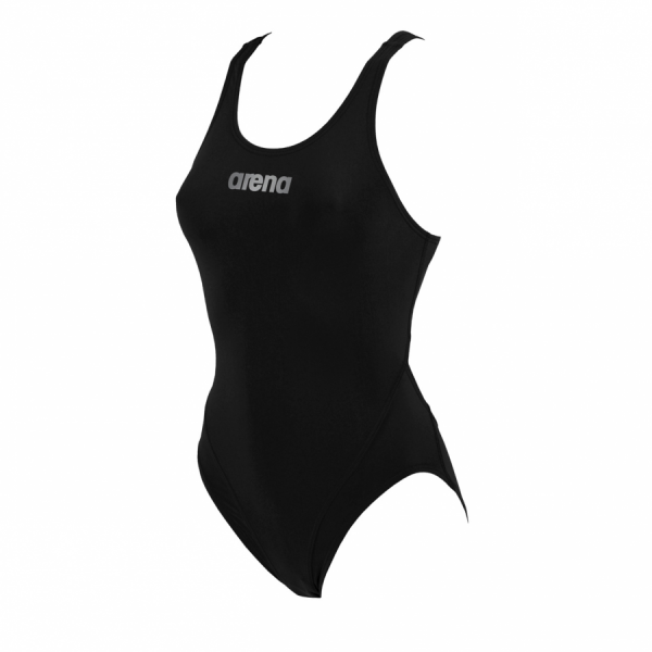 Arena Ladies Makinas Medium Leg Swimsuit (Black)