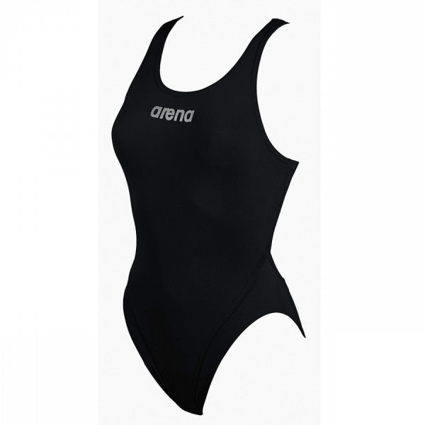 Arena Ladies Makinas High Leg Swimsuit (Black)