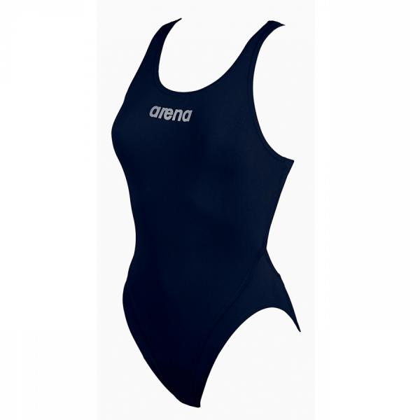 Arena Ladies Makinas High Leg Swimsuit (Navy)