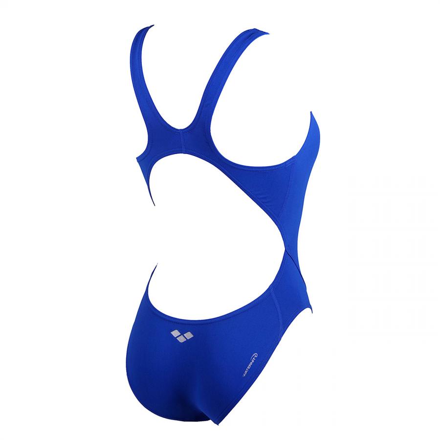 Arena Ladies Makinas High Leg Swimsuit (Royal) BACK