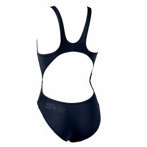 Arena Makinax High Leg Swimsuit (Navy) Back